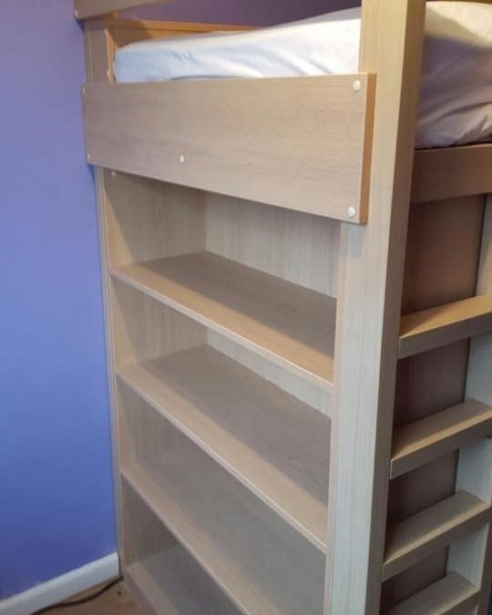 Small Box Room Cabin Bed: Cabin Bed With Built In Storage