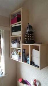 Neat Shelves For Added Storage